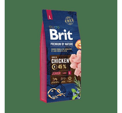 Pinso Brit Premium dog nature junior L 15kg 1