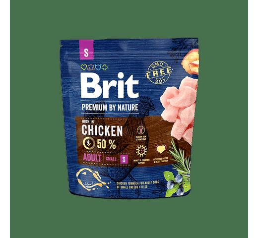 Pinso Brit Premium dog nature adult S 1kg 1