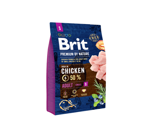 Pinso Brit Premium dog nature adult S 3kg 1