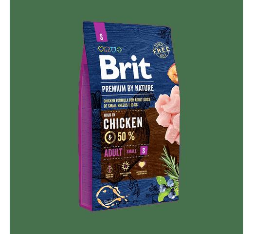 Pinso Brit Premium dog nature adult S 8kg 1