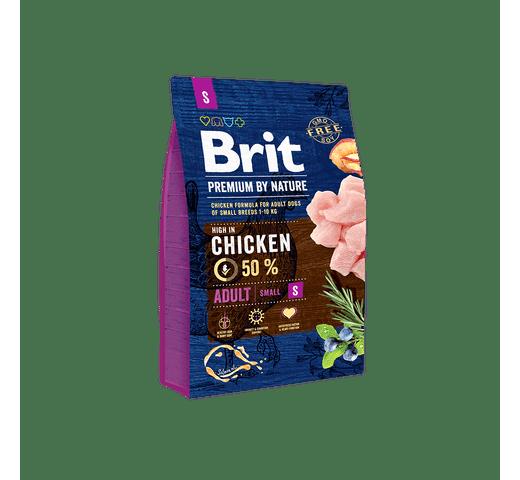 Pinso Brit Premium dog nature adult M 8kg 1