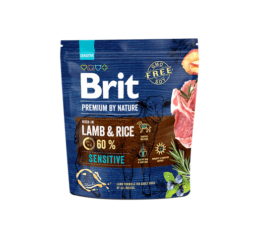 Pinso Brit Premium dog nature sensitive xai 1