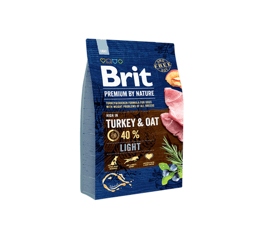 Pinso Brit Premium dog nature light 1