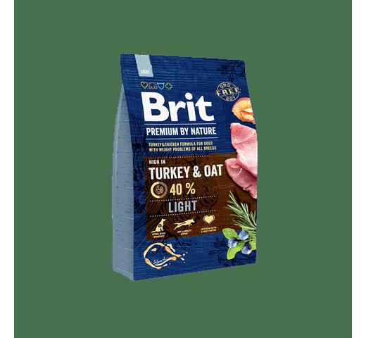 Pinso Brit Premium dog nature light 3kg 1