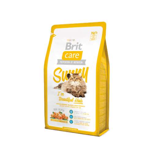 Pinso Brit Care cat sunny hair 2kg 1