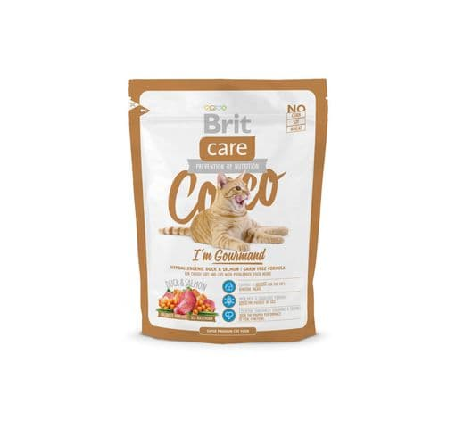 Pinso Brit Care cat cocco gourmand 400gr 1