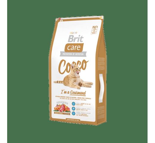 Pinso Brit Care cat cocco gourmand 7kg 1