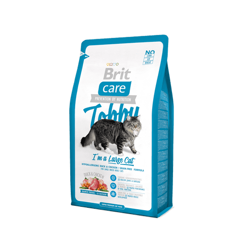 Pinso Brit Care cat tobby large 2kg 1