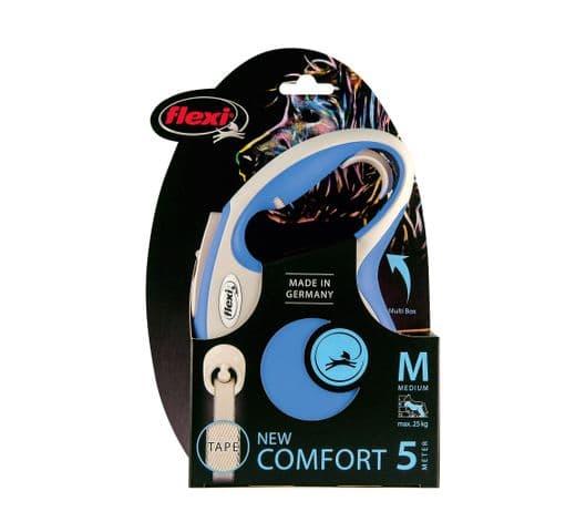 Corretja extensible Flexi comfort cinta blau M 5m 1