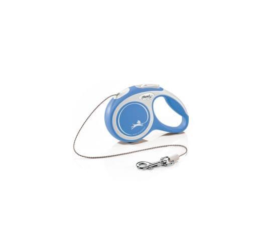Corretja extensible Flexi comfort cordó blau XS 3m 1