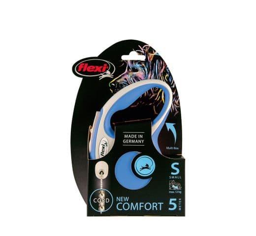 Corretja extensible Flexi comfort cordó blau S 5m 1