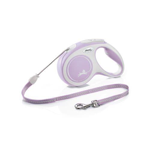 Corretja extensible Flexi comfort cordó rosa 1