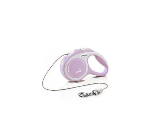 Corretja extensible Flexi comfort cordó rosa XS 3m 1