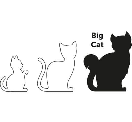 Arnés Flamingo gat + corretja l gran gato amsi 25-40cm 10mm 4