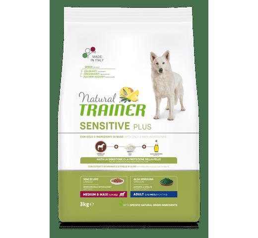 Pinso Natural Trainer gos sensitive plus medium maxi cavall 1