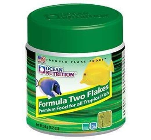 Pinso Ocean Nutrition formula two marine flake foods 1