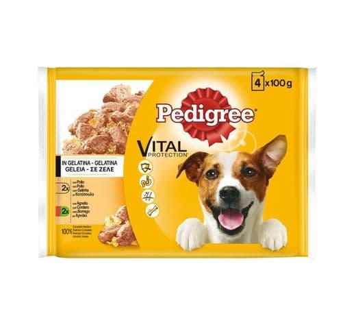 Aliment humit Pedigree gos gelatina carn multipack 12x100 gr 1