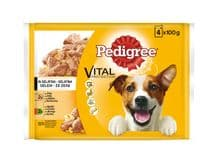 Aliment humit Pedigree gos gelatina carn multipack 12x100 gr