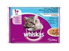 Aliment humit Whiskas gat selezione