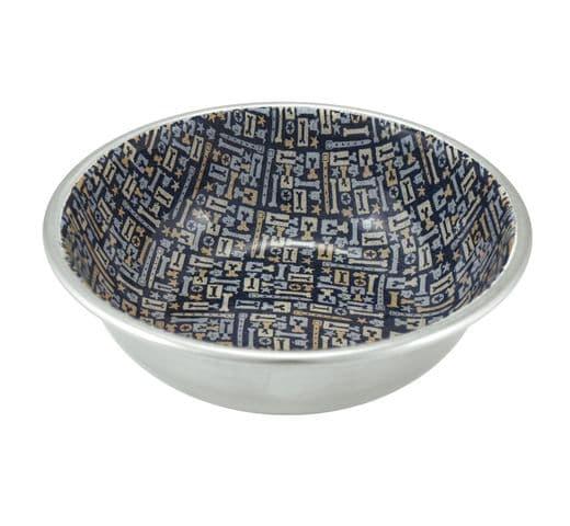 Menjadora Nayeco inoxidable mosaic blau 1
