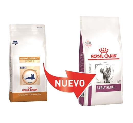 Pinso de dieta veterinària Royal Canin gat early renal 2