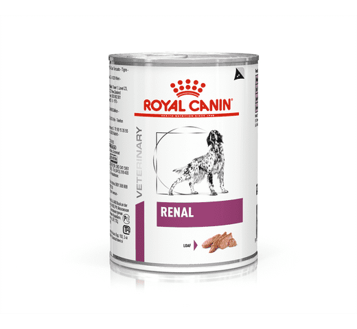 Dieta veterinària en humit Royal Canin gos renal llauna 410gr 1