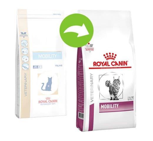 Pinso de dieta veterinària Royal Canin gat mobility 2kg 2