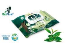 Tovalloletes Croci eco te verd i clorhexidina 30un biodegradables