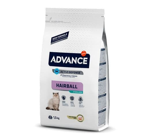 Pinso Advance Affinity gat sterilized hairball 1