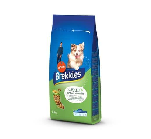 Pinso Brekkies Affinity gos pollastre 20kg 1