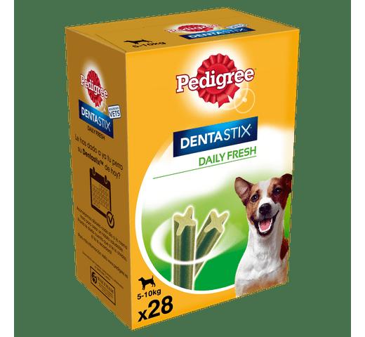 Snack dental Pedigree gos petit dentastix fresh caixa (28un) 110gr caixa 1