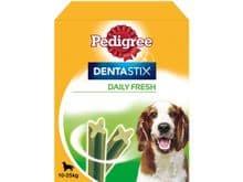 Snack dental Pedigree gos mitjà dentastix fresh