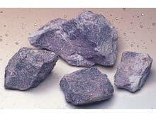 Decoració Wave pedra lepidolite real M