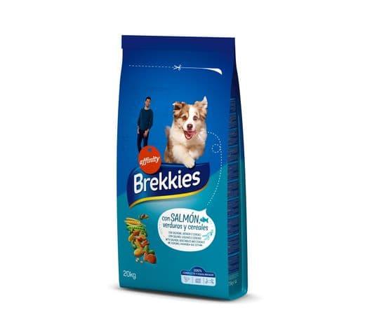 Pinso Brekkies Affinity gos salmó 20kg 1