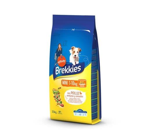 Pinso Brekkies Affinity gos mini 20kg 1