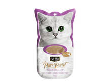 Snack líquid Kit Cat Purrpuree tonyina i vieires 60gr