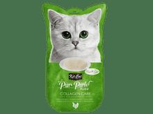 Snack líquid Kit Cat Purrpuree plus pollastre collagen care 60gr