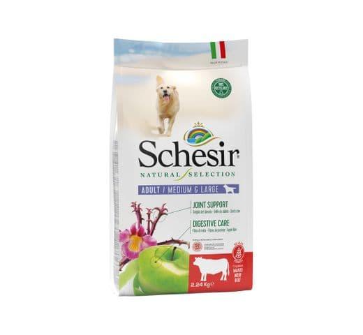 Pinso Schesir Natural Selection gos medium & large GF bou 1