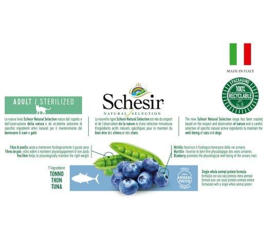 Pinso Schesir Natural Selection gat sterilized tonyina 4