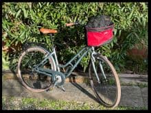 Bicicleta Freedog transportin bike bag 38x28x36cm