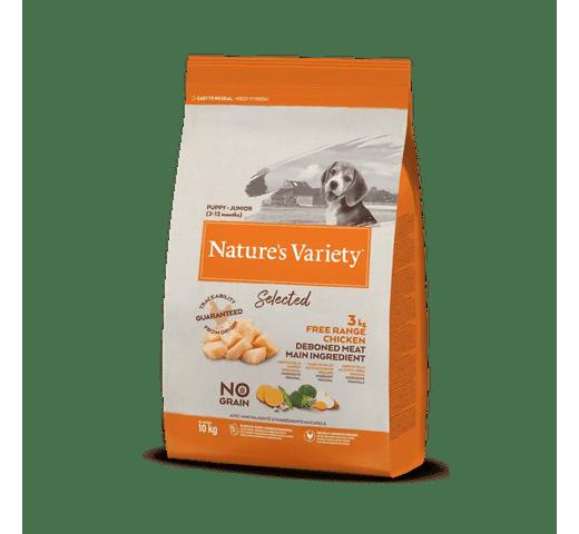 Pinso Natures Variety (True Instinct) gos selected medium-maxi adult pollastre 10kg 1