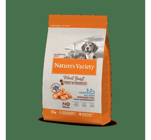 Pinso Natures Variety (True Instinct) gos meat boost salmó 10kg 1