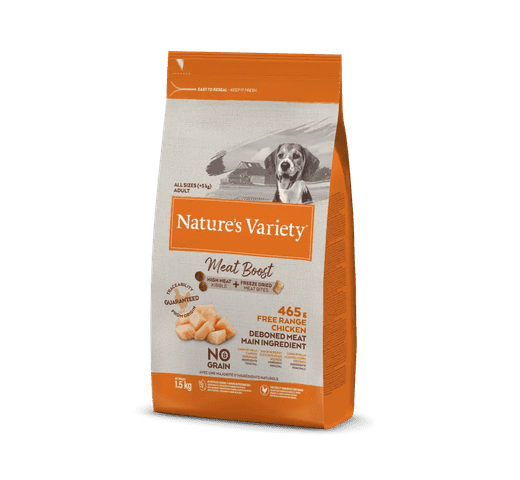 Pinso Natures Variety (True Instinct) gos meat boost pollastre 1
