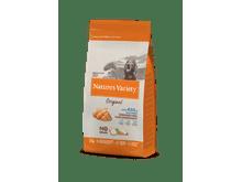 Pinso Natures Variety (True Instinct) gos original no grain medium-maxi adult salmó