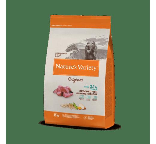 Pinso Natures Variety (True Instinct) gos original medium adult tonyina 10kg 1