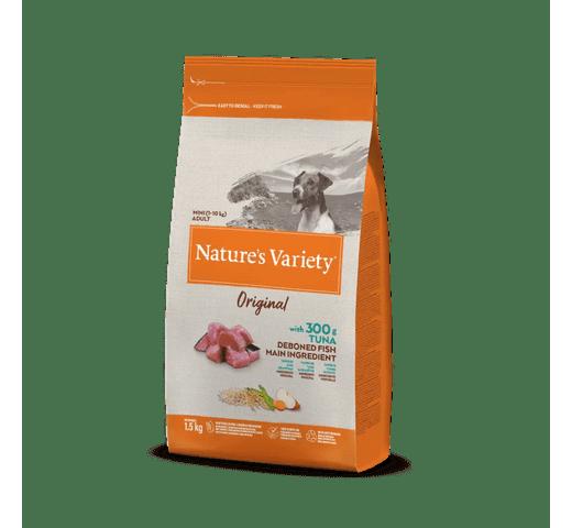Pinso Natures Variety (True Instinct) gos original mini adult tonyina 1,5kg 1
