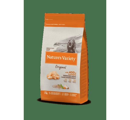 Pinso Natures Variety (True Instinct) gos original medium adult pollastre 2kg 1