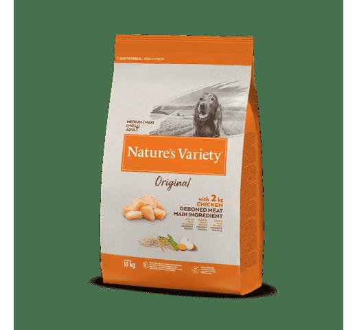 Pinso Natures Variety (True Instinct) gos original medium adult pollastre 10kg 1