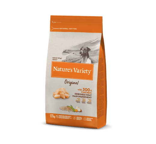 Pinso Natures Variety (True Instinct) gos original mini adult pollastre 1