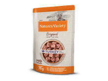 Aliment humit Natures Variety (True Instinct) gat original no grain gall dindi 70gr